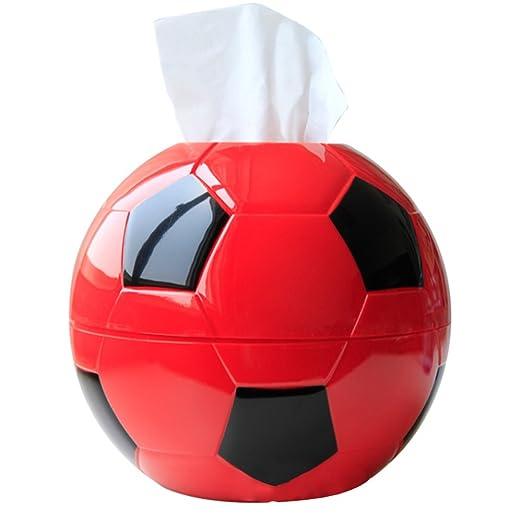 pingenaneer Porta papel higiénico caja forma de balón de fútbol ...