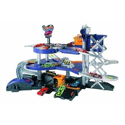Mattel Hot Wheels Mega Garage Playset V3260: Toys & Games [5Bkhe0502471]