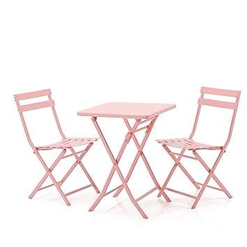 Práctica mesa multifuncional. LEQI Balcón Pequeña mesa y ...