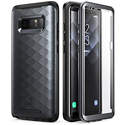 Galaxy Note 8 Case, Clayco [Hera Series] Full-body Rugged Case with Built-in Screen Protector for Samsung Galaxy Note 8 (2017 Release)