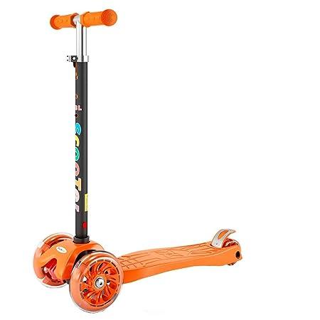 HhGold Scooter para niños 3-6-14 Niño 2 Tres o Cuatro Ruedas ...