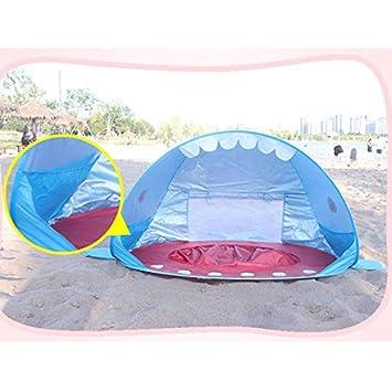 Tienda de campa/ña port/átil para la Playa protecci/ón UV Syfinee Sombra de tibur/ón para beb/é