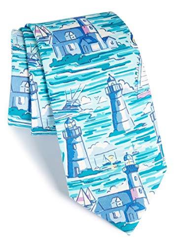 Vineyard Vines Men's Lighthouses Silk Tie