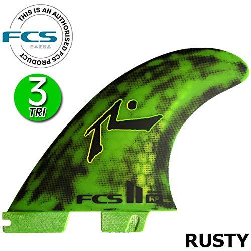 FCS2 フィン ラスティ RUSTY PC THRUSTER TRI FIN / エフシーエス2 サーフボード サーフィン ショート  Medium