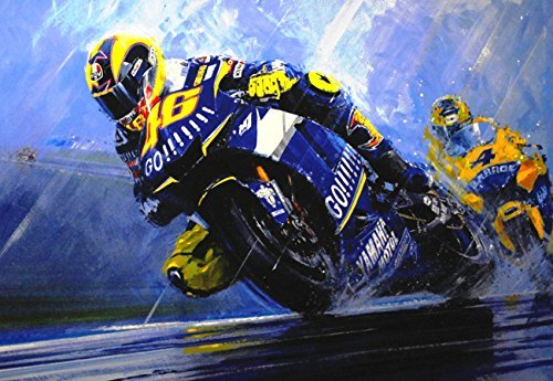 "Valentino Rossi ""Natural Born Winner"" Motorcycle Racing for sale  Delivered anywhere in USA"