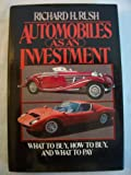Automobiles As an Investment, Richard H. Rush, 0026062100