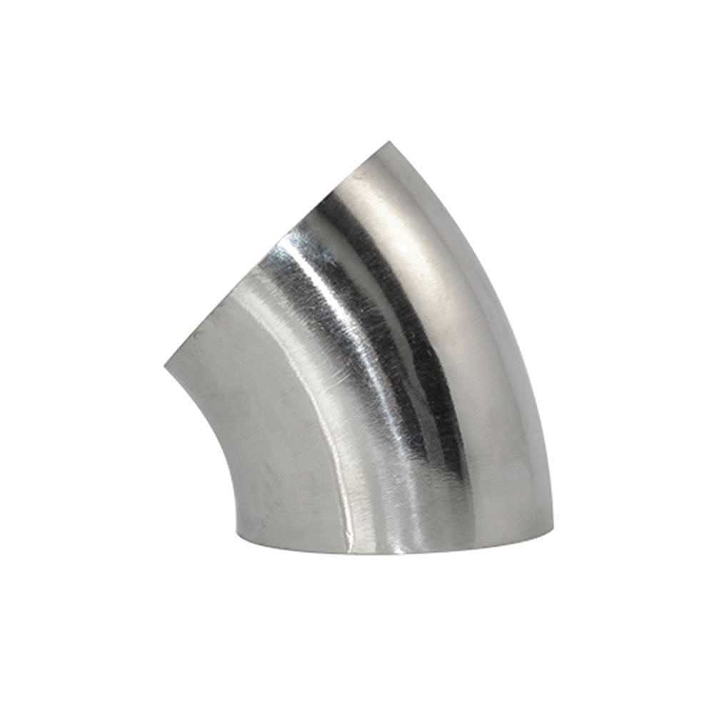 Stainless Steel 90 Degree 25MM 1' OD Sanitary Weld Elbow Pipe Fitting SUS SS316 LINGJUN