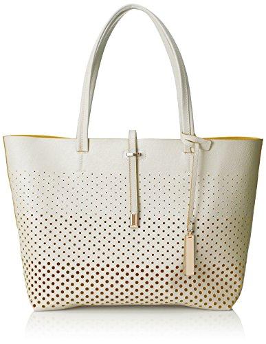 Vince Camuto Leila Travel Tote, Snow White Pineapple, One Size (Snow White Handbag)