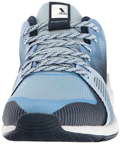 adidas Performance Damen Crazytrain Bounce W Cross-Trainer Schuh Einfach Blau / Metallic Silber / Tech Blue