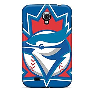 Durable Hard Cell-phone Case For Samsung Galaxy S4 With Custom Trendy Toronto Blue Jays Image TimeaJoyce