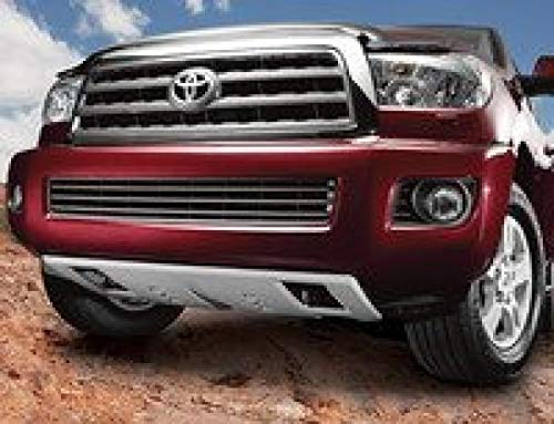TOYOTA Genuine Accessories PT212-34071 Front Skid Plate for Select Sequoia and Tundra Models