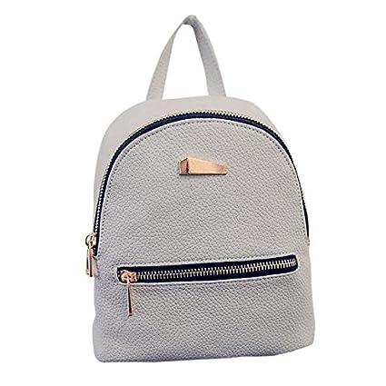 1440f8e5f38b Amazon.com: ❤ Sunbona Schoolbag Women's New Backpack Travel ...