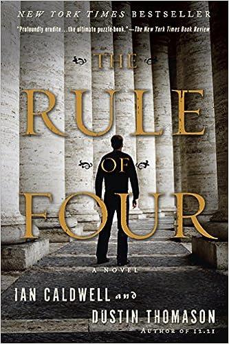Mejor libro electrónico gratuito descarga gratuita en pdfThe Rule of Four: A Novel by Ian Caldwell,Dustin Thomason B000FC1MOG in Spanish PDF iBook PDB