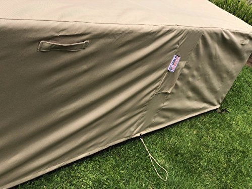 Dola Large Outdoor Sofa Sectional Cover Waterproof Heavy