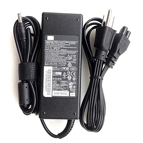 New Genuine 19V 4.74A 90W 4.81.7mm AC Adapter for HP Compaq 6820s Notebook PC - Hp Dv9000 Series Notebooks
