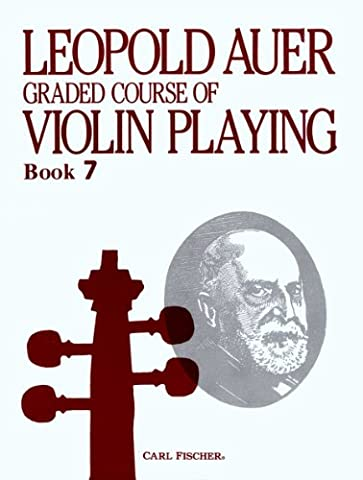 O1450 - Graded Course of Violin Playing - Book 7 (Auer Violin)