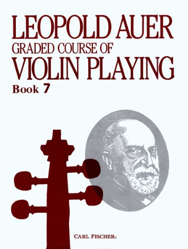 O1450 - Graded Course of Violin Playing - Book 7