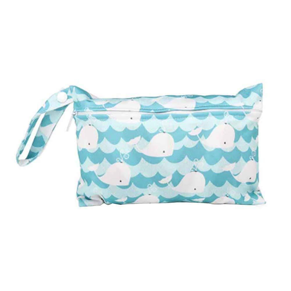 Gespout Mini bolsa de Pa/ñales Con Cremallera Individual Bolsa de Almacenamiento Para Beb/és de Salud Ambiental