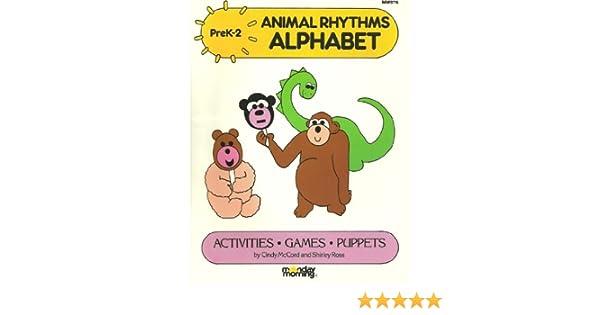 Animal Rhythms Alphabet: Activities, Games, Puppets (PreK, 2nd ...
