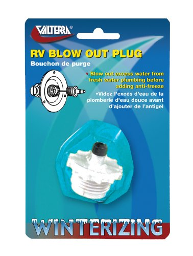 Valterra P23500VP White RV Blow-Out Plug