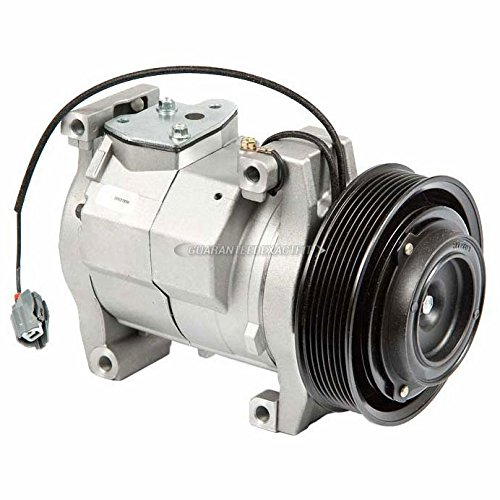 Brand New Premium Quality AC Compressor & A/C Clutch For Honda Accord 2.4L - BuyAutoParts 60-01590NA New (Compressor Accord)