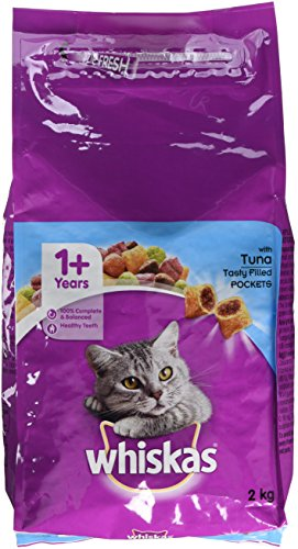 Whiskas Complete Tuna Cat Food Dry 2kg