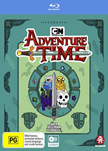 Adventure Time: The Complete Collection  Non-US Format   Region B/2 [Blu-ray]