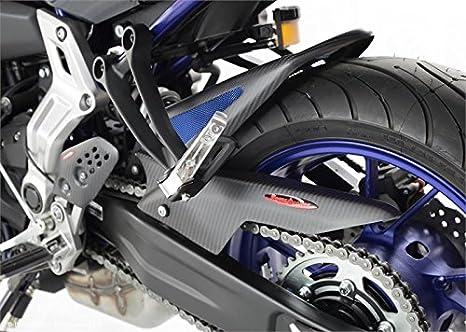 Yamaha mt07-fz07/2018/ /Contrepoids tampons en aluminium de facile Installation/ /Accessoires de Pretto moto gauche + droite //&nd DPM /Noir mat/ / /Covers Pivot Roue arri/ère