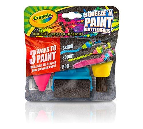 Crayola Sidewalk Paint Heads 03 5095