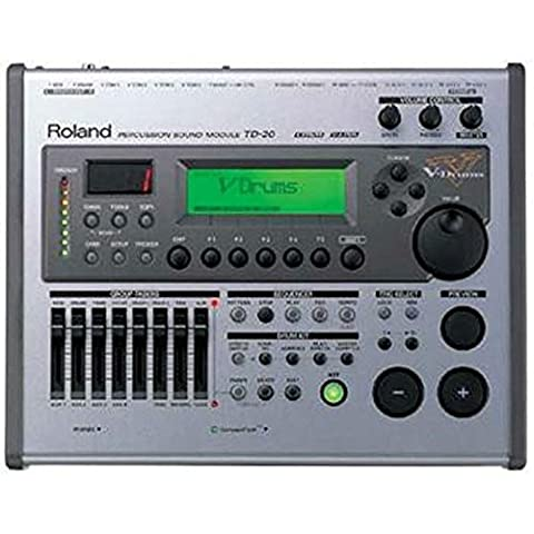 Roland TD-20 V-Drum Percussion Sound Module (Roland Drum Cymbals)