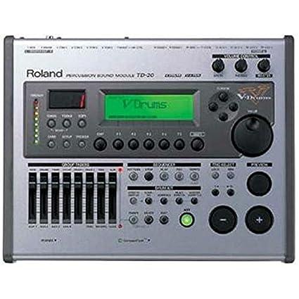 Roland TD-20 Módulo de sonido de percusión V-Drums