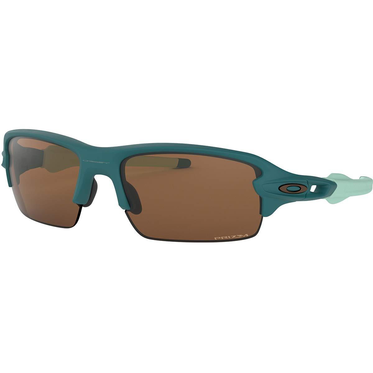 Oakley Men's Flak XS Sunglasses,OS,Matte Balsam/Prizm Tungsten by Oakley
