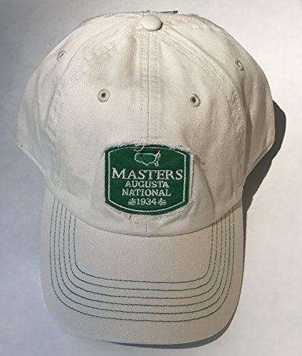 2017 MASTERS Golf HAT Stone Vintage Logo 1934 Collection New!