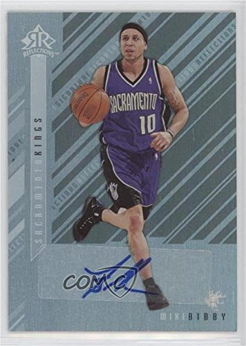 2006 Signature Reflections - Mike Bibby (Basketball Card) 2006-07 Upper Deck Reflections - Signature Reflections - [Autographed] #SR-MB
