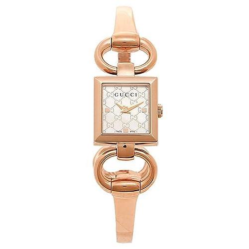 c6377b80782c [グッチ] 時計 レディース GUCCI YA120519 トルナウ゛ォーニ 腕時計 ウォッチ シルバー/ピンクゴールド [並行