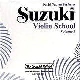 Suzuki Violin School, Volume 3 (CD) (Suzuki Method Core Materials)