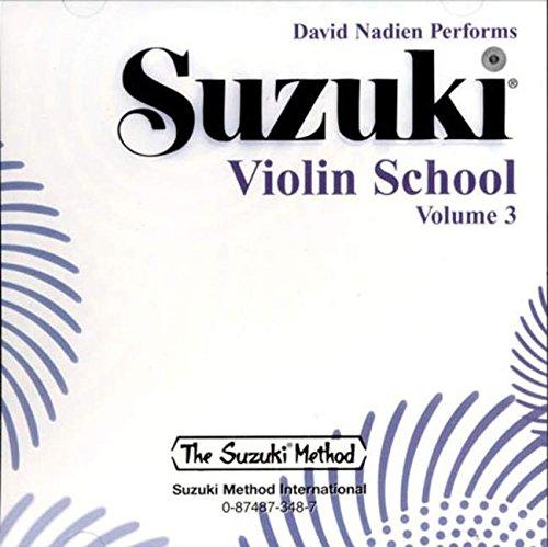 (Suzuki Violin School, Volume 3 (CD) (Suzuki Method Core Materials))
