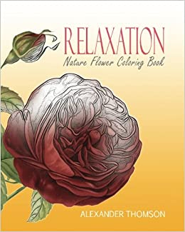 flower coloring book for adults vol 6 volume 6