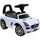 Jouets ? tirer Trotteur Porteur Baby Car ARTI Mercedes SLS AMG 332 White / Blanc Ride-On Activity Toy