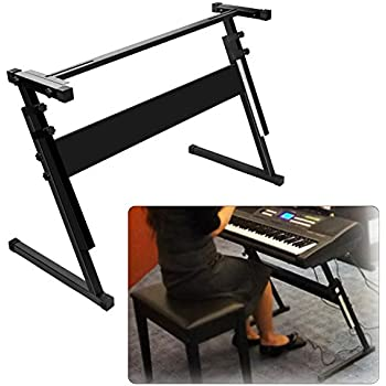 Amazon Com Luvay Keyboard Stand For 61 Or 54 Keys Z