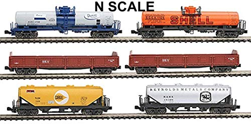 Kato KAT1066275 N Mixed Freight Car Set ()