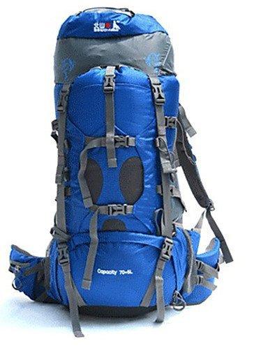 XH@G 70+5 L Rucksack Camping & Wandern / Klettern / Legere Sport / Reisen OutdoorWasserdicht / Schnell abtrocknend / Regendicht / Staubdicht /