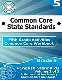 Fifth Grade Common Core Workbook: English Activities, CoreCommonStandards.com, 1499232411