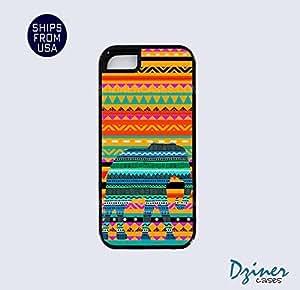 iPhone 5 5s Tough Case - Aztec Elephant iPhone Cover