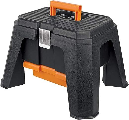 XF Caja de Herramientas, Caja de Almacenamiento Tipo Taburete Caja ...