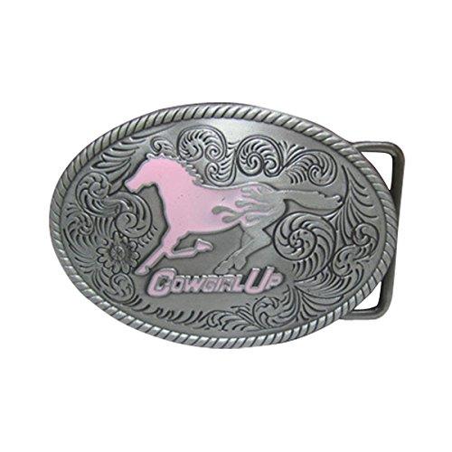 E Clover Fashion Cowgirl Silver Western