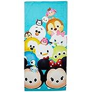 Disney Tsum Tsum 'Stacks on Stacks' Cotton Bath/Beach/Pool Towel