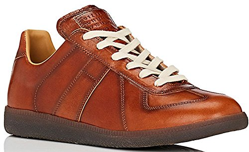 Maison Margiela 22 Replica Low Burnished Leather Sneaker (11 US/44 - 11 Martin Margiela Maison