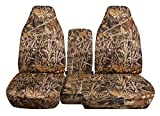 60 40 seat cover camo - Designcovers 1998-2003 Ford Ranger/Mazda B-Series Camo Truck Seat Covers (60/40 Split Bench) Center Console/Armrest Cover: Wetland Camouflage (16 Prints) 1999 2000 2001 2002 w/wo Cup Holders