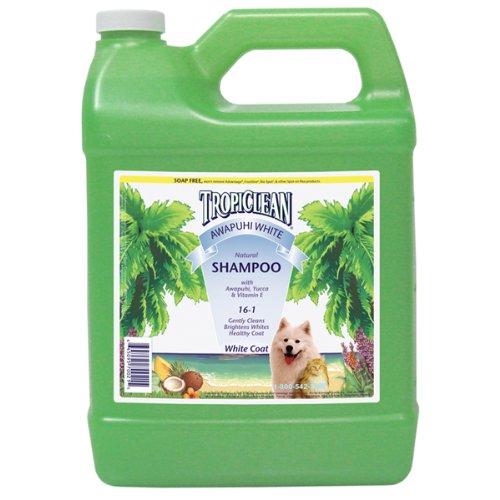 TropiClean Awapuhi White Pet Shampoo, 1-Gallon, My Pet Supplies